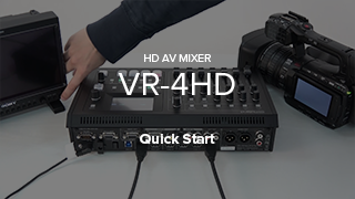 VR-4HD quick start video